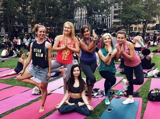 Bryant Park Yoga Summer 2017