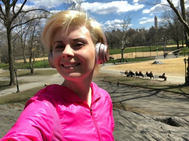 Run in Central Park